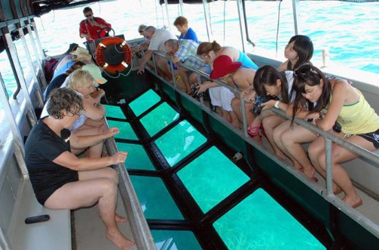 HURGHADA GLASS BOTTOM BOAT RIDE