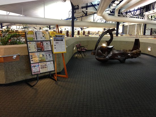 Thousand Oaks, CA: Artwork and cultural events posted at the library entracnce