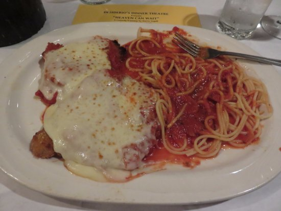 Lancaster, NY: My meal. Veal Parmigiana