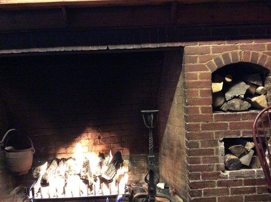Hamilton, NY: Fireplace
