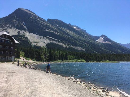 Many Glacier Lodge張圖片