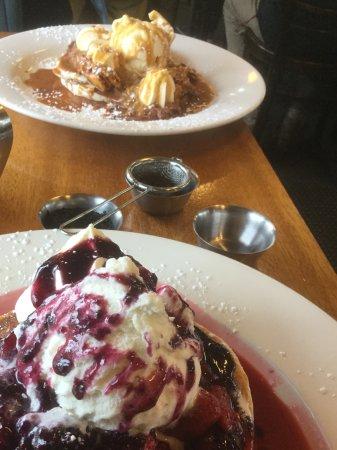 Margate, Australia: Delicious Pancakes....