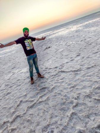 the white Desert - Rann of Kutch