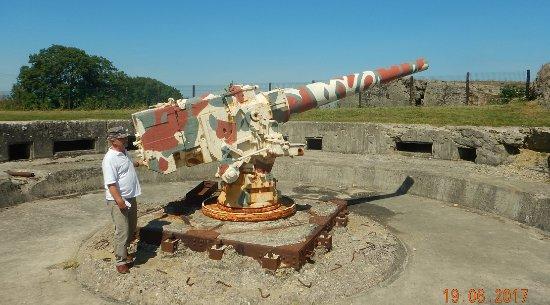 Saint-Marcouf, Frankrijk: destroyer gun