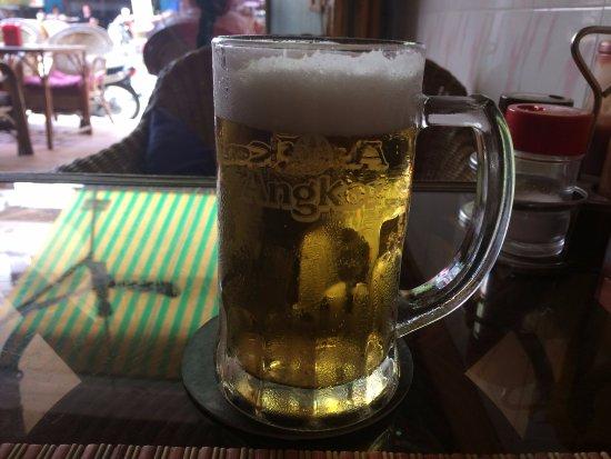 Aroma Chef: 泡が見事な生ビール