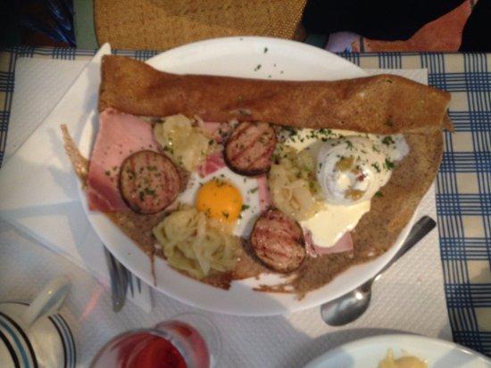 Penestin, Γαλλία: galette complète