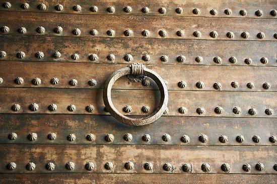 Musée de Casa de los Tiros : Detalle de la puerta principal