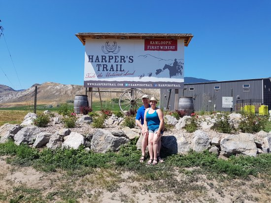 Kamloops, Canada: Harper's Trail WInery