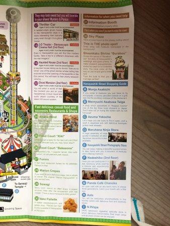Hanayashiki: Map and information on the park