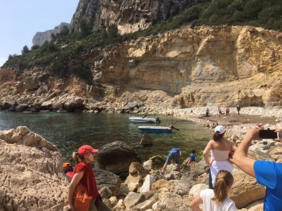 Benitachell, Spanien: Cala llebeig cumbre del sol