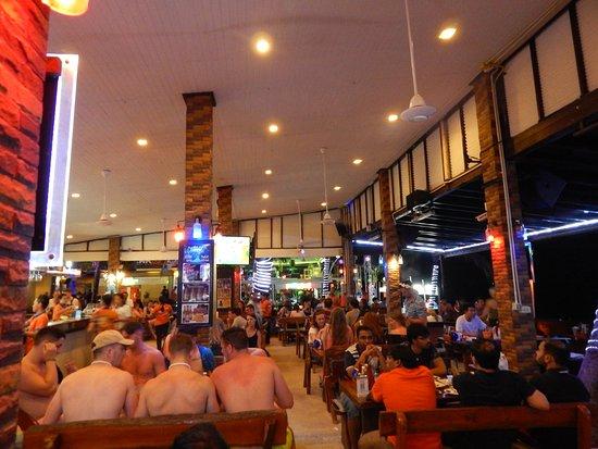 Ark Bar Beach Club: indoor hangout