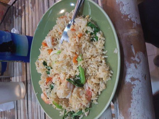 Imchai Thaifood: Riso fritto con gamberetti buonissimo