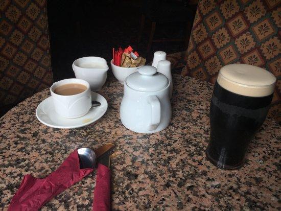 Lifford, Ireland: Before the amazing seafood chowder
