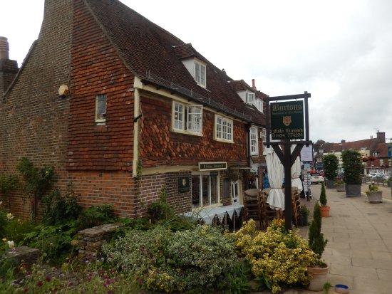 Mrs Burton's Restaurant and Tea Room: Les jardins anglais