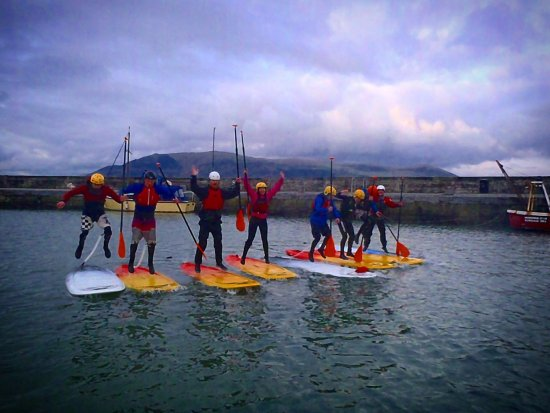 Carlingford, Ireland: New Stand Up Paddle Boarding.  Fast becoming the favourite