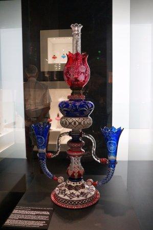 Lampe à pétrole du Musée du verre de Sars-Poteries