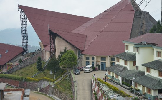 Picture Of Catholic Church, Kohima