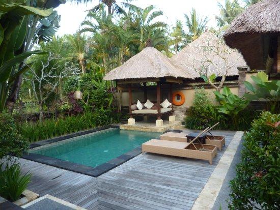 The Ubud Village Resort & Spa: PISCINE PRIVEE CHAMBRE MAGNIFIQUE