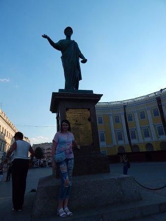 Duke de Richelieu monument: Мы с Дюком
