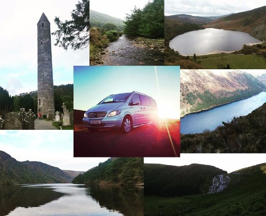 Greystones, أيرلندا: Some photographs of a Wicklow Tour including Glendalough, Lough Tay, Glenmacnass Waterfall