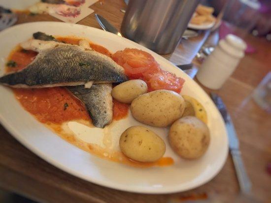 Podimore, UK: fish