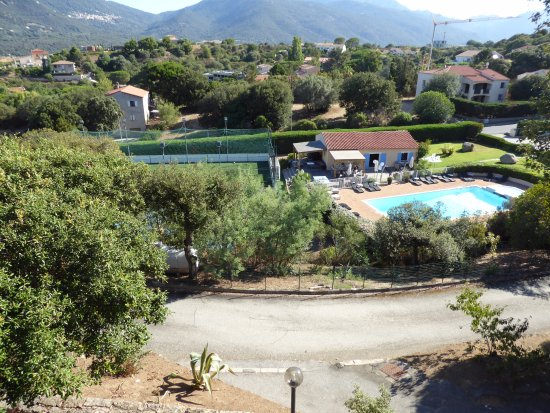 Residence Dolce Vita: vue du balcon