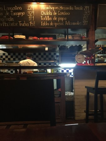 Donostia: El Tablero - the daily specials