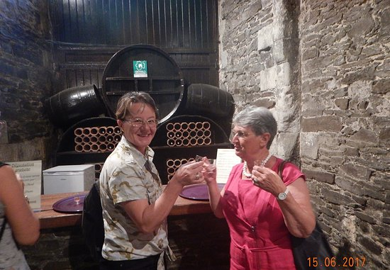 Brissac-Quince, ฝรั่งเศส: wine degustation