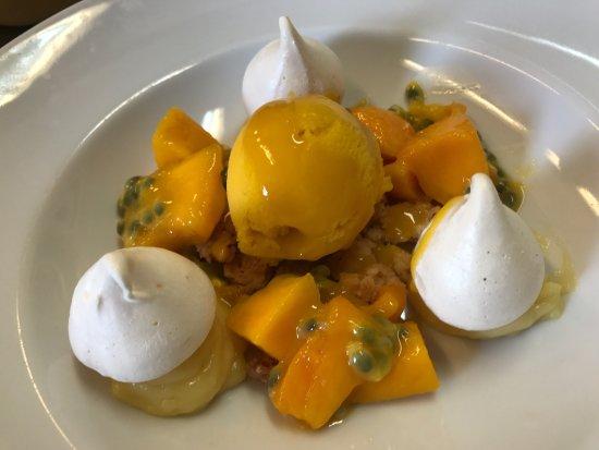 La Garenne-Colombes, Francja: Fraîcheur de mangue et fruit de la passion