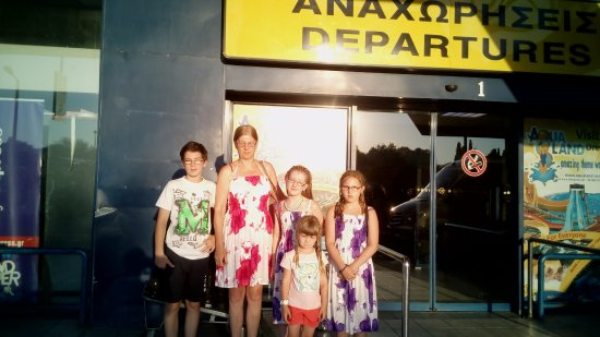 Stavros Apartments: our family