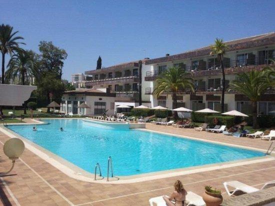 piscina foto van hotel jerez spa jerez de la frontera