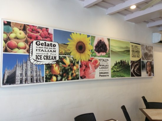 Milano Ice Cream : Interior