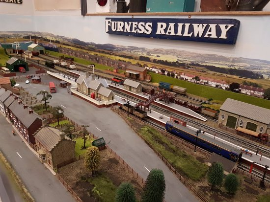 Millom, UK: Model Railway