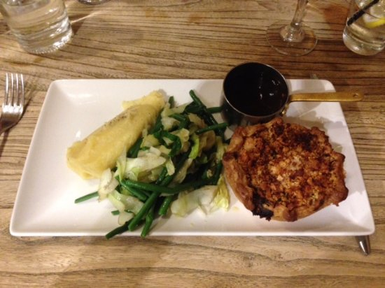 The Botanist Bristol Chicken And Leek Pie