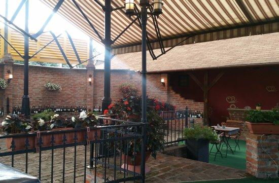Nagykanizsa, Hongarije: Terasz