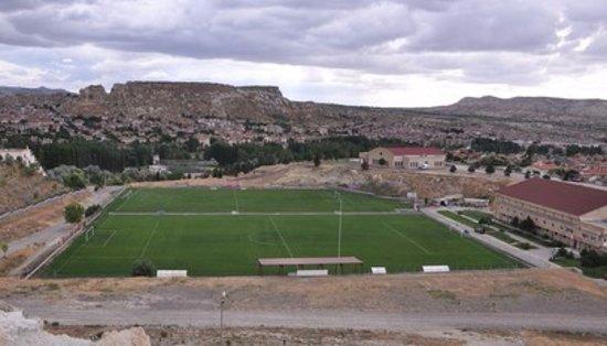 Mustafa Hotel: Futbol Sahaları