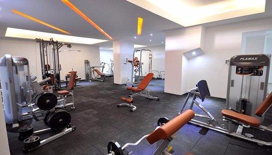 Mustafa Hotel: Fitness Salnu