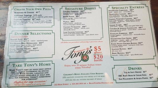 Tony's Pasta Shop & Trattoria: 20170712_192935_large.jpg