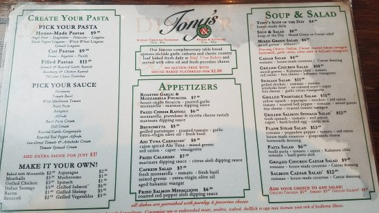 Tony's Pasta Shop & Trattoria: 20170712_192942_large.jpg