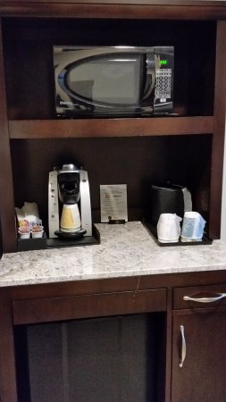 Murfreesboro, TN: microwave, refrigerator and a Keurig (nice touch)