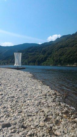 Pleasure Boat in Shimanto River : P_20170714_093934_large.jpg