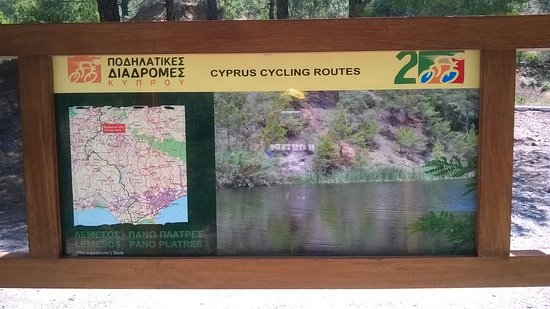 Distrikt Paphos, Zypern: Troodos bicycling routes