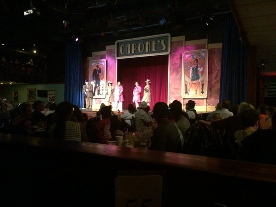 Capone's Dinner and Show: The Show