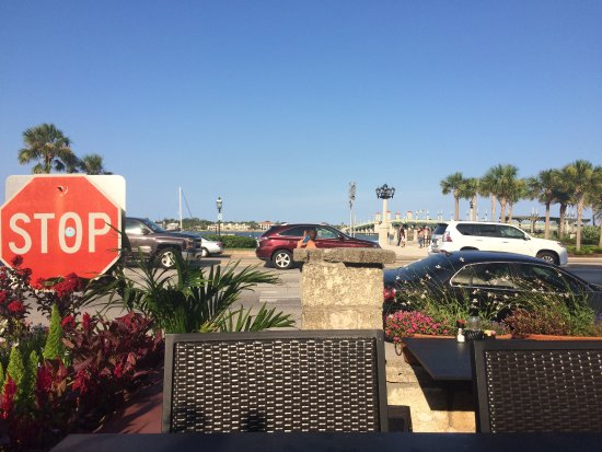 Capone's Dinner and Show: View From Our Short Stay Table