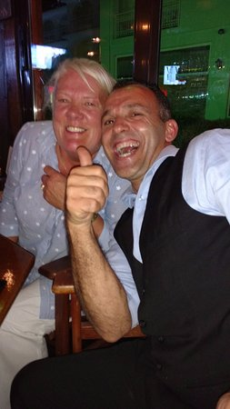 Billy.great guy! Picture of Micri Acropoli Restaurant