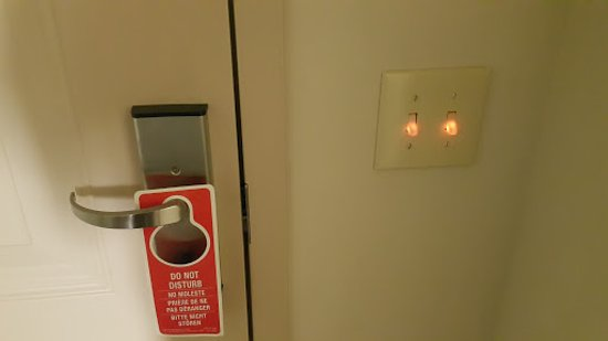 Smyrna, TN: The lighted switches were a nice touch.