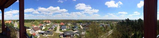 Königs Wusterhausen, Tyskland: Rundblick von der Aussichtsplattform