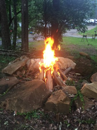 Lakemont, Geórgia: Our community fire pit