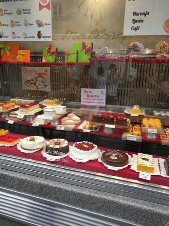 La Mallorquina: Gâteaux magnifiques