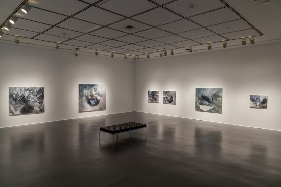 St. Catharines, Canada: Melanie Authier exhibition in the Harris-Godwin gallery
